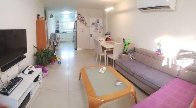 דירת 3 חדרים מושקעת באזור, רחוב בן צבי