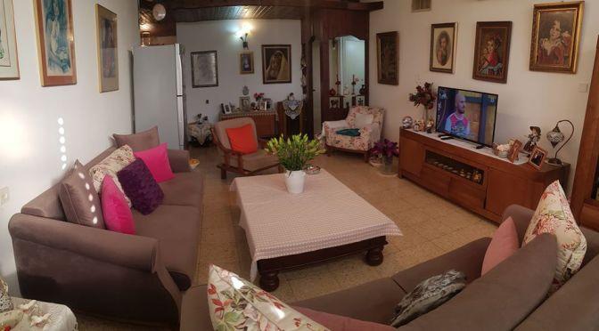 דירת 4 חדרים למכירה ברחוב קראוזה חולון